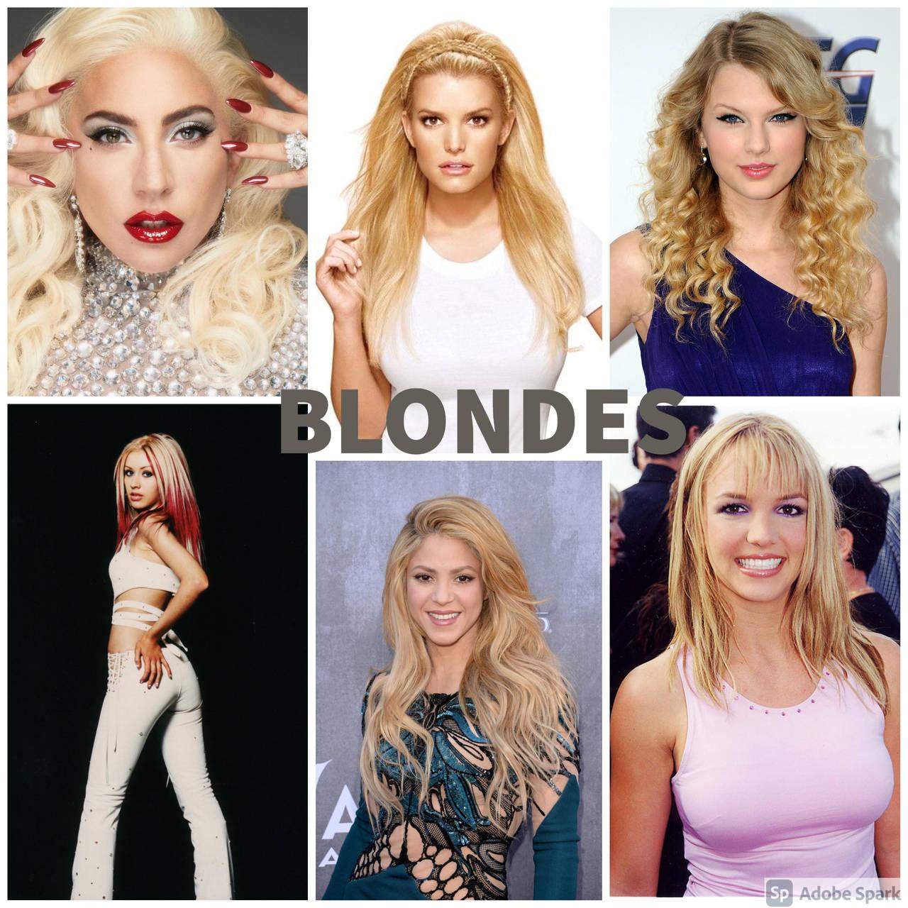 Blonde singers